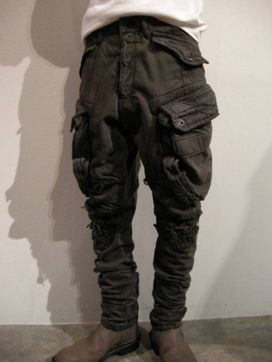 Julius FW12 Heavy Denim Distressed Gasmask Cargos Size US 32 / EU 48 - 14
