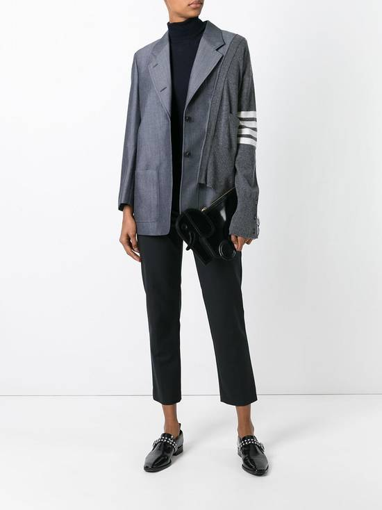 Thom Browne FW16 Runway Reconstructed Blazer Cashmere Cardigan Sweater Size 34S - 12