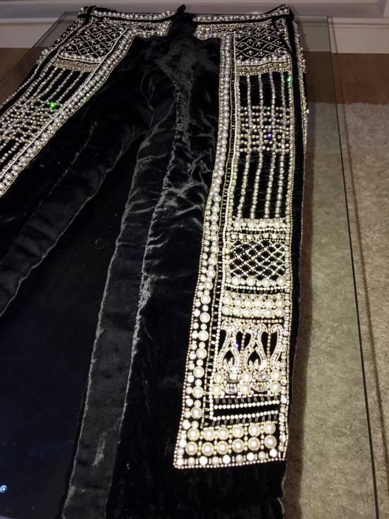 Balmain Balmain Fall 2012 Swarovski Crystal Fabergé Trouser Size US 32 / EU 48 - 7