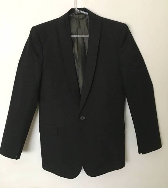 Julius Rare Japan made black fine wool tailored jacket in excellent condition Size 38R - 3