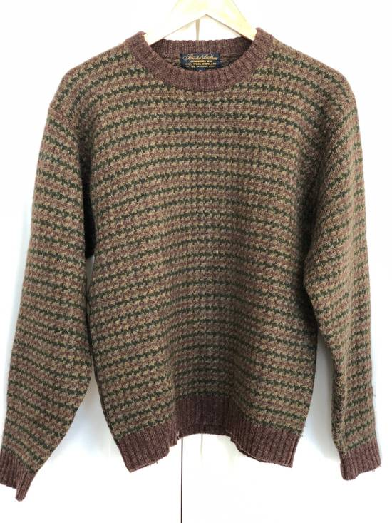 Brooks Brothers 100% Shetland Wool Crew Neck Sweater Size US M / EU 48-50 / 2