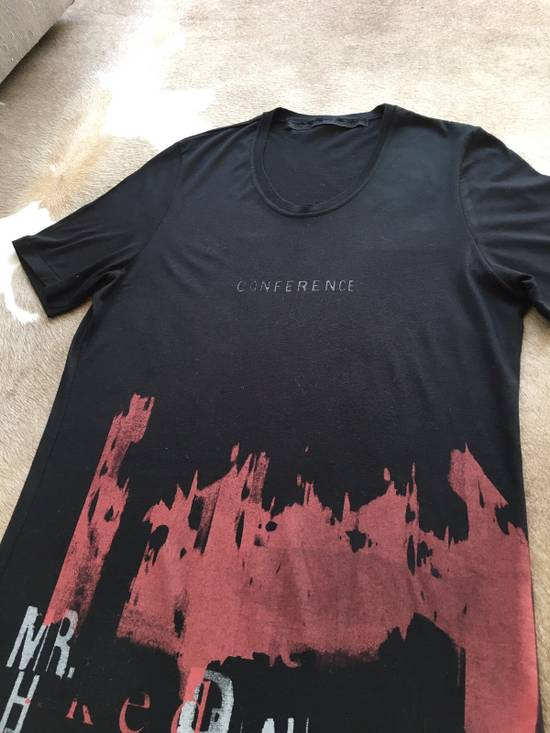 Julius Japan made black printed silk and cotton jersey longline tshirt Size US M / EU 48-50 / 2 - 2