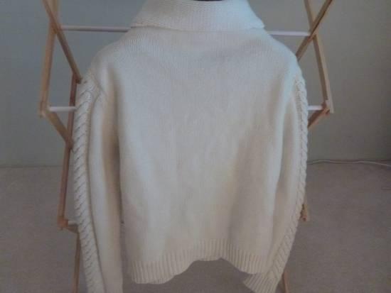 Balmain Cable Knit Sweater Merino Size US L / EU 52-54 / 3 - 1