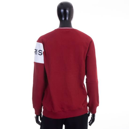 Givenchy Dark Red Givenchy Paris 4G Embroidered Sweatshirt Size US M / EU 48-50 / 2 - 3