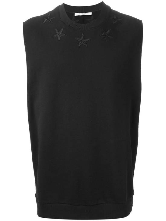 Givenchy $705 Givenchy Sleeveless Stars Rottweiler Shark Oversized Sweater size S (M / L) Size US S / EU 44-46 / 1 - 1