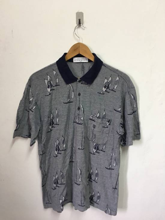 Givenchy Vintage Givenchy Paris Gentleman All Over Print Polo T Shirt Size US M / EU 48-50 / 2