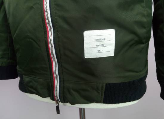 Thom Browne Bomber Jacket With Leather Dog Patch 3 / 42 / L MINT Size US L / EU 52-54 / 3 - 1