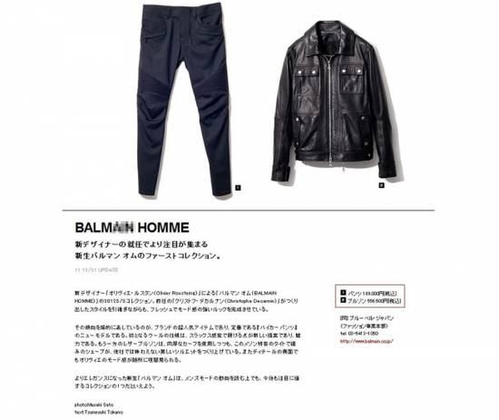 Balmain Balmain Style Custom Leather Jacket Size US M / EU 48-50 / 2 - 3