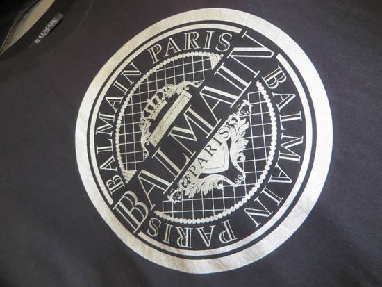 Balmain Silver Medallion print t-shirt Size US L / EU 52-54 / 3 - 6
