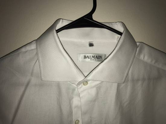 Balmain White Button Up Size US XXL / EU 58 / 5 - 2