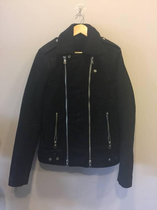 Balmain Shearling Rider Jacket Size US XL / EU 56 / 4 - 1