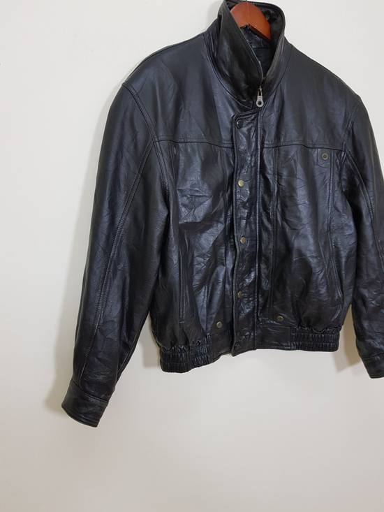 Balmain Authentic Pierre Balmain Riding Bomber Leather Jacket Size US L / EU 52-54 / 3 - 19