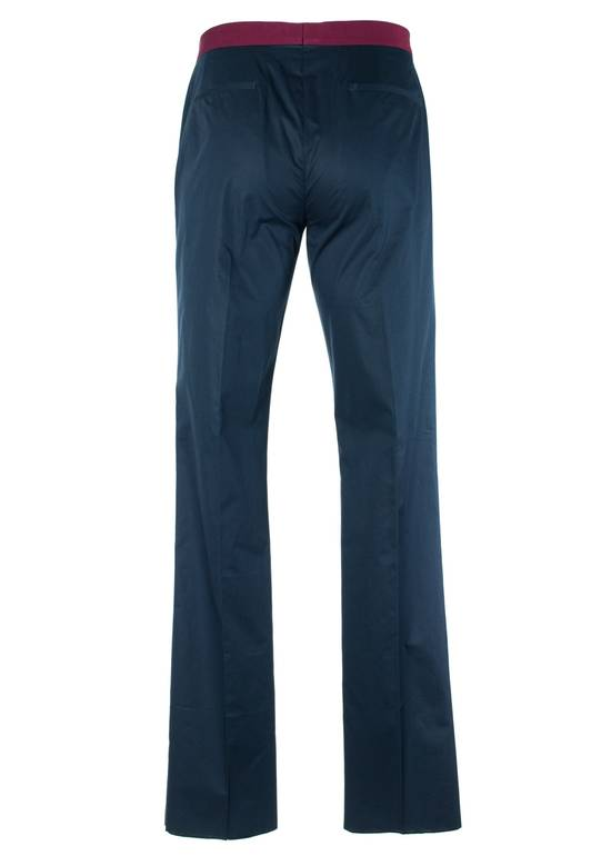 Givenchy Givenchy Men's Navy W/ Red Accent Cotton Trousers Size US 32 / EU 48 - 1