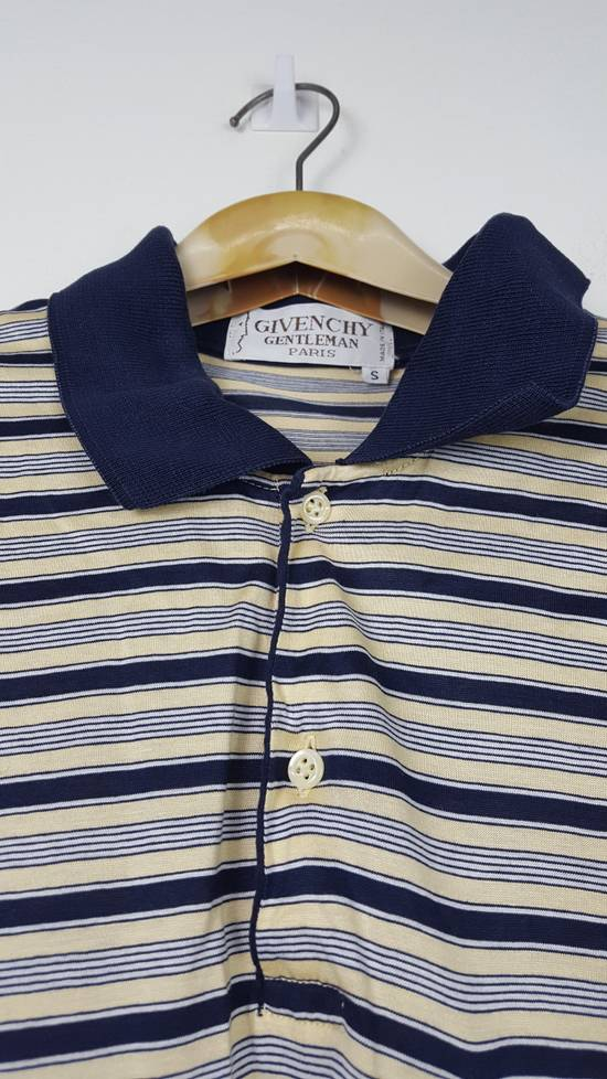 Givenchy Vintage GIVENCHY GENTLEMAN PARIS Stripes Polo Shirt Size US S / EU 44-46 / 1 - 2
