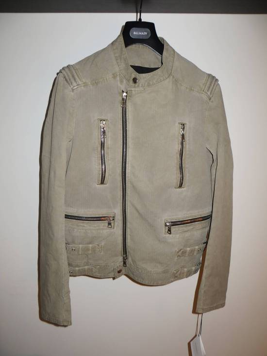 Balmain Zip biker jacket Size US XL / EU 56 / 4