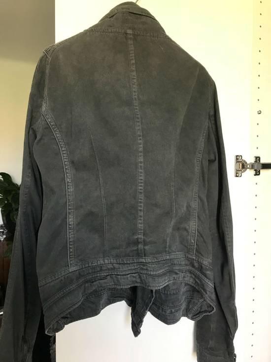 Julius Waxed distressed denim jacket Size US S / EU 44-46 / 1 - 6