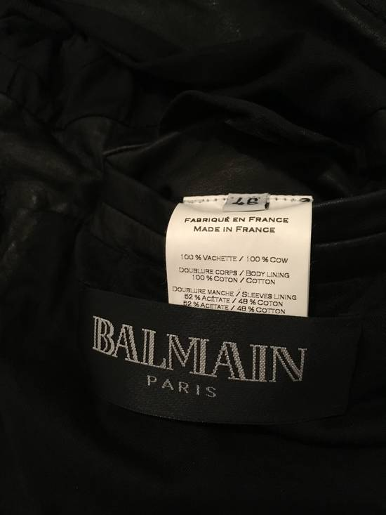 Balmain Safety Pin Biker Jacket Size US S / EU 44-46 / 1 - 9