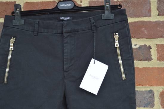 Balmain Black Zip Detail Chinos Size US 32 / EU 48 - 5