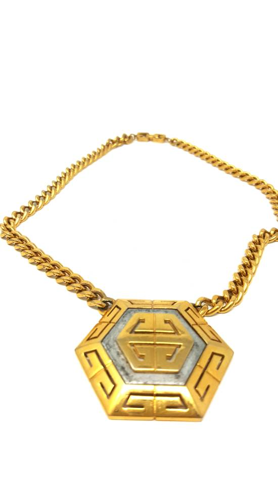 Givenchy OVERSIZED Gold plated logo necklace Size ONE SIZE - 1
