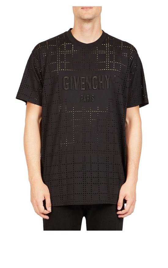 Givenchy Givenchy Perforated Logo Tee Size US M / EU 48-50 / 2