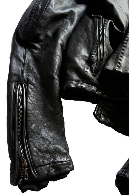 Julius JULIUS _7 ma high neck black lamb biker jacket slim fit Japan Size US S / EU 44-46 / 1 - 21