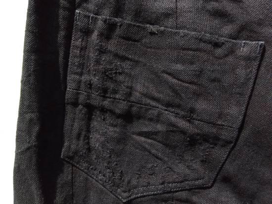 Julius Goth_ik Black Zip Hem Jeans Size US 31 - 4