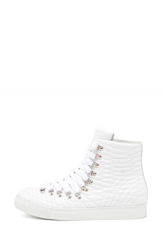 Givenchy White Multi-lace Multi-stitch Embroidered High Tops Size US 9 / EU 42 - 1