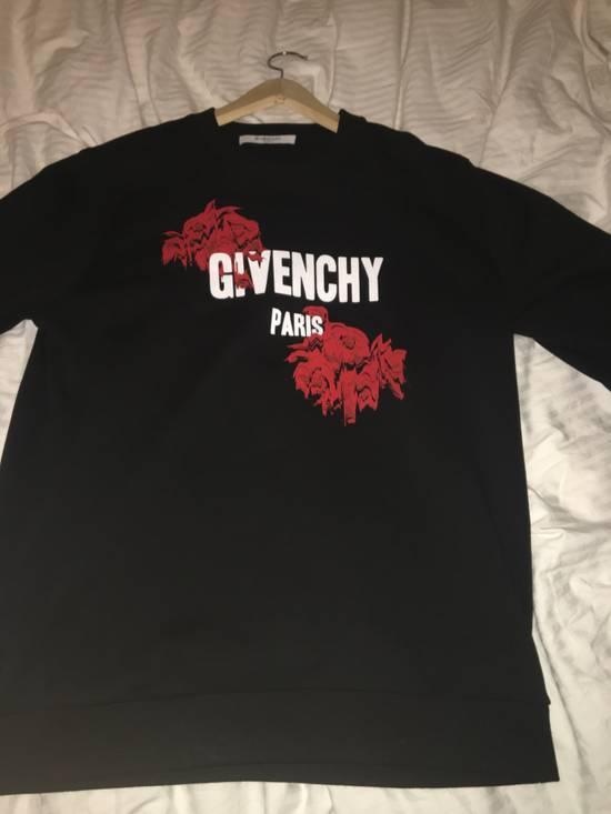 Givenchy Givenchy Roses Logo Graphic Sweatshirt Size US M / EU 48-50 / 2