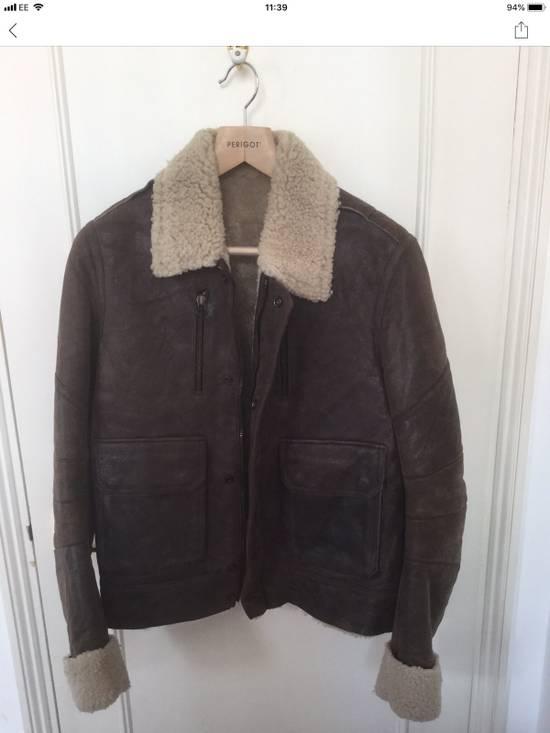Balmain Balmain Shearling Lined Aviator Jacket Size US M / EU 48-50 / 2 - 4