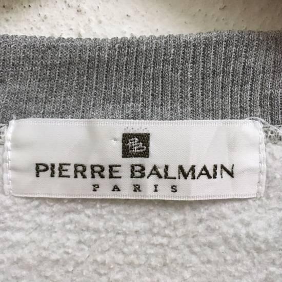 Balmain FREE SHIPPING!!! PIERRE BALMAIN BIG LOGO SWEATSHIRTS M SIZE Size US M / EU 48-50 / 2 - 2