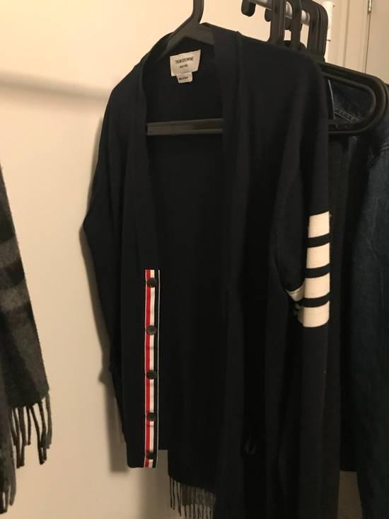 Thom Browne v neck Cardigan in fine merino wool Size US M / EU 48-50 / 2 - 1