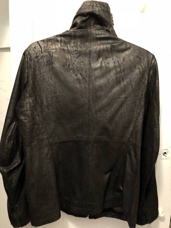 Julius SLASH-NECK LEATHER (SS17) Size US M / EU 48-50 / 2 - 5