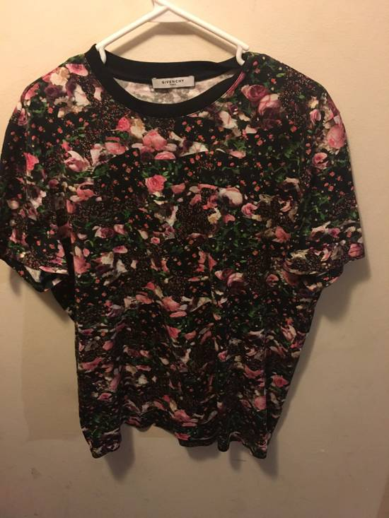 Givenchy Givenchy Floral Print Tee Size US XS / EU 42 / 0