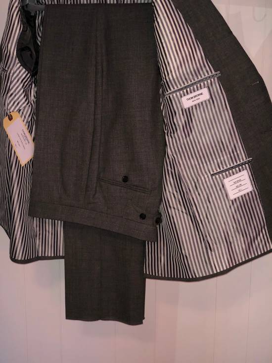 Thom Browne Classic Suit In 2 Ply Fresco Size 40R - 1