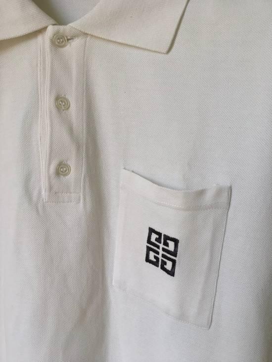 Givenchy Single Pocket White Polo Size US S / EU 44-46 / 1 - 1
