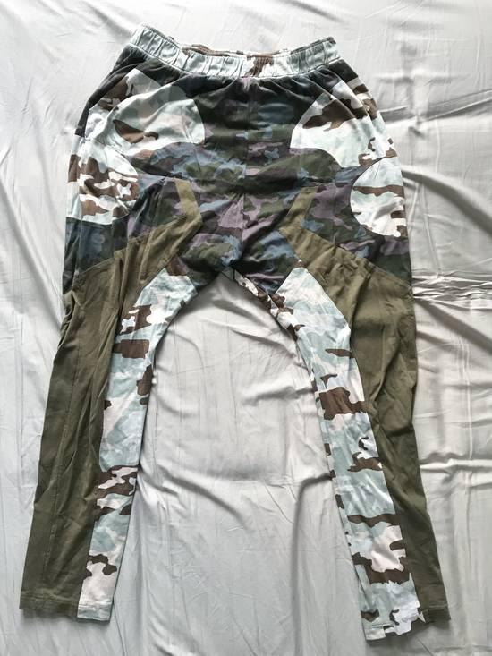 Givenchy Givenchy SS14 multi-camo drop-crotch sweatpants size L (fit 32-26) Size US 34 / EU 50