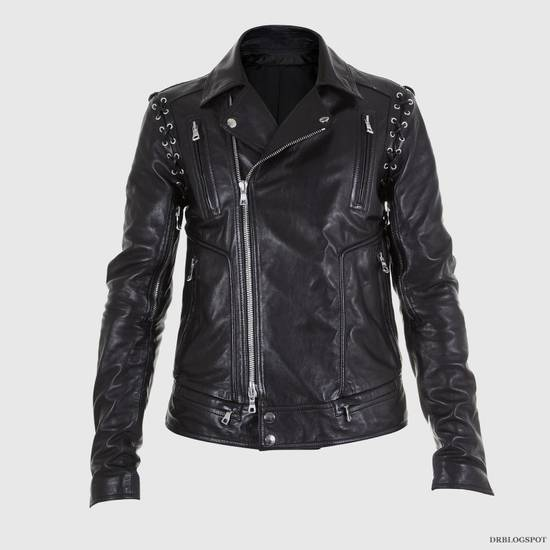 Balmain Sz 44 New Lambskin Biker Leather Jacket Size US XS / EU 42 / 0