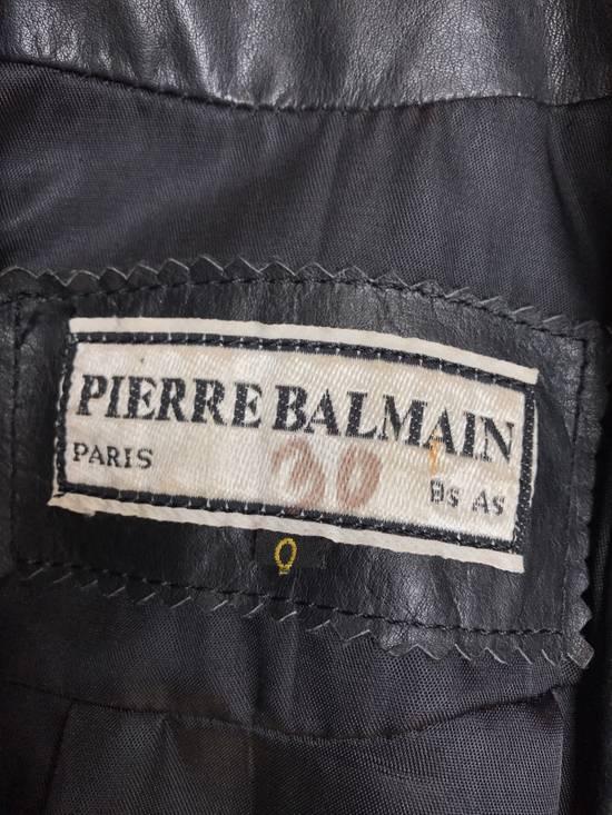 Balmain Balmain Women's Leather Jacket Vintage Size US XS / EU 42 / 0 - 2