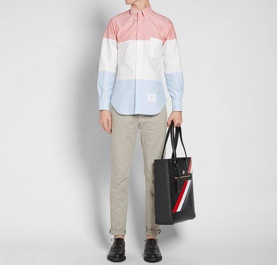 Thom Browne Three Panel Oxford Shirt (Brand New) Size US XXL / EU 58 / 5 - 1