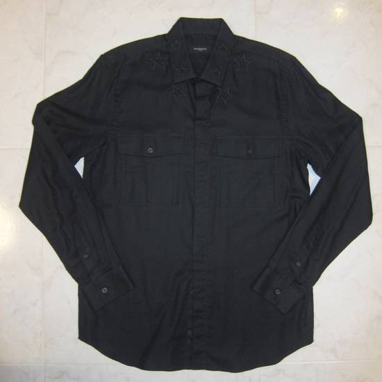 Givenchy Givenchy Embroidered Star Collar Button Down Shirt Size US L / EU 52-54 / 3 - 8