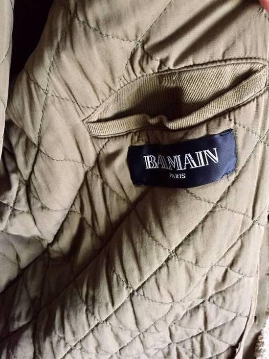 Balmain Fall 2011 Decarnin Fur Parka Size US L / EU 52-54 / 3 - 5