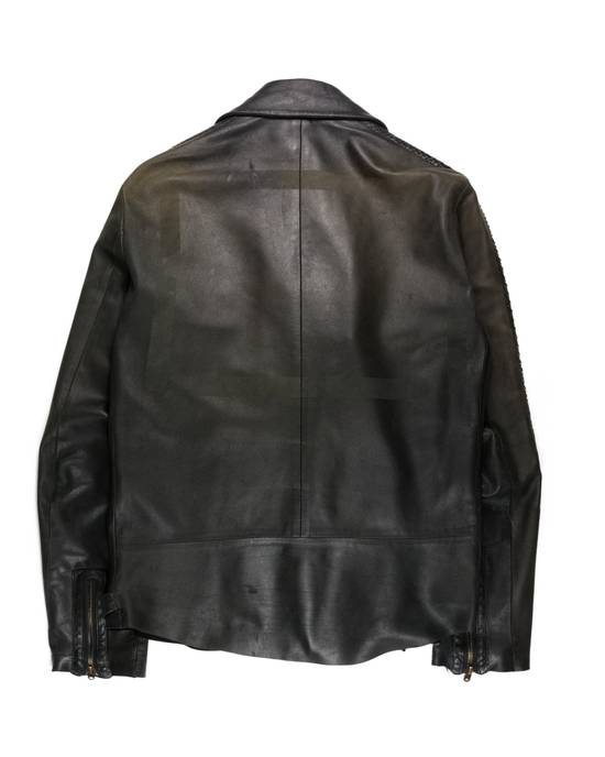 "Number (N)ine SS06 ""Welcome to the Shadow"" Python Leather Jacket Size US L / EU 52-54 / 3 - 3"
