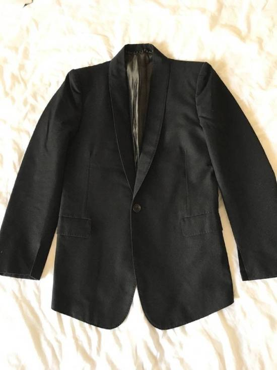 Julius Rare Japan made black fine wool tailored jacket in excellent condition Size 38R - 19