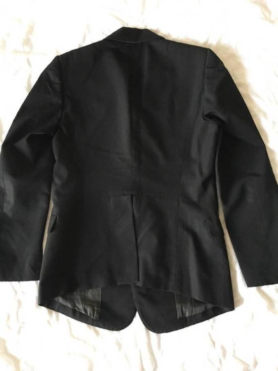 Julius Rare Japan made black fine wool tailored jacket in excellent condition Size 38R - 12