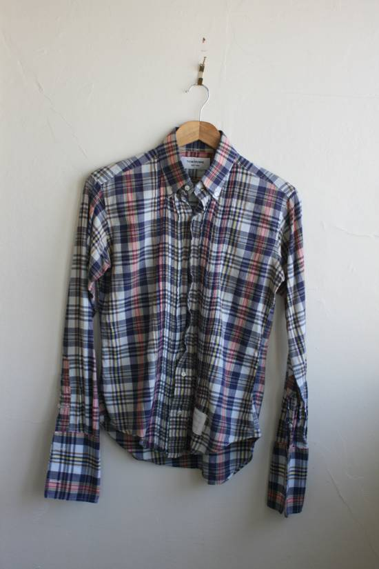 Thom Browne Thom Browne Madras Shirt Size US S / EU 44-46 / 1