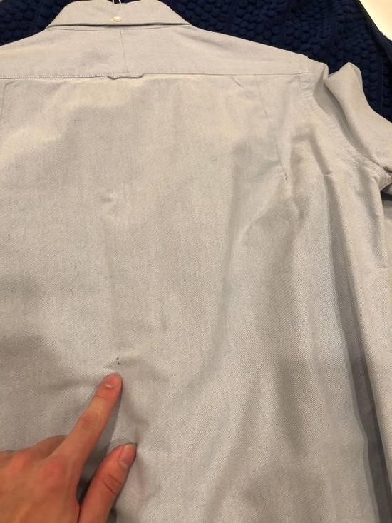 Thom Browne Blue Grosgrain Oxford Shirt Size US S / EU 44-46 / 1 - 4
