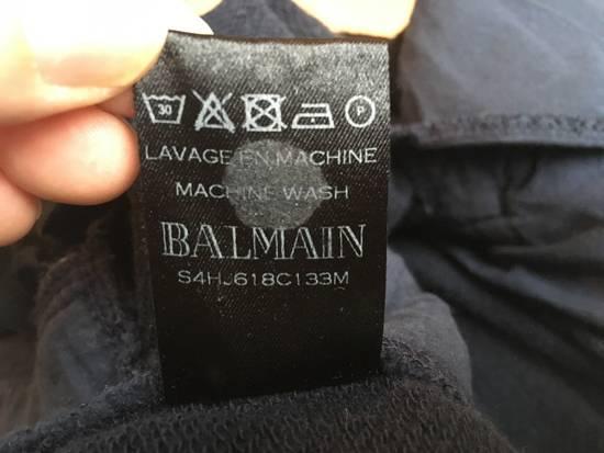 Balmain Houndstooth Embossed Jogging Sweatpants Size US 32 / EU 48 - 5
