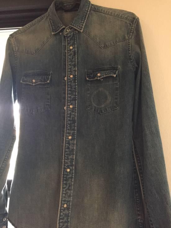 Balmain Denim balmain Shirt Size US XS / EU 42 / 0 - 1