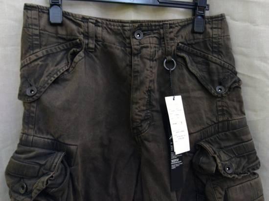 Julius Green Denim Gas Mask Cargo Pants s/s 13 Size US 29 - 1