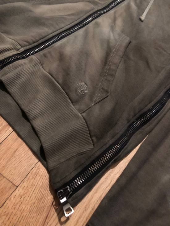 Balmain Balmain Sweatshirt Zip Up Oiled Green Brown Size US L / EU 52-54 / 3 - 2